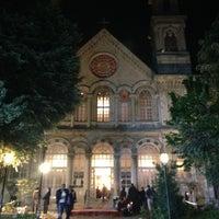 Photo taken at Hagia Triada Greek Orthodox Church by Ertan K. on 5/4/2013