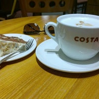 Photo taken at Costa Coffee by Chris M. on 8/11/2014