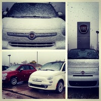 Photo taken at Bergstrom FIAT of Milwaukee by Luke B. on 11/11/2013