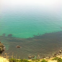 Photo taken at Пляж Фиолент by Наталя Ч. on 7/4/2013
