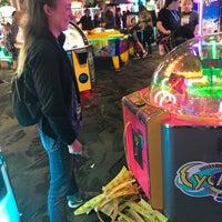 Photo taken at Marvel Superhero Island Arcade by Tish M. on 11/25/2017