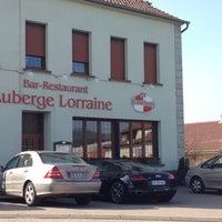 Photo taken at Auberge Lorraine by Patrick M. on 3/8/2014