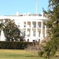 Photo taken at The White House Southeast Gate by Brittany F. on 1/21/2013