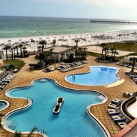 Photo taken at Hilton Pensacola Beach by Brad S. on 3/1/2013
