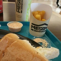 Photo taken at El Mesón Sandwiches by Wins R. on 2/14/2016