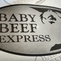 Photo taken at Baby Beef Express by João Paulo M. on 5/15/2014