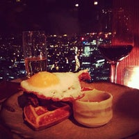 Photo taken at Duck & Waffle by Lizzy L. on 9/1/2013