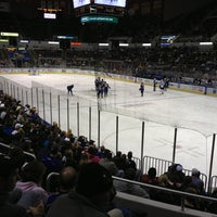 Photo taken at Carver Arena by Danielle L. on 1/27/2013