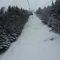 Photo taken at North Peak Lodge by Chris W. on 1/19/2014
