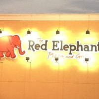 Photo taken at Red Elephant Pizza and Grille by Madison J. on 2/1/2013