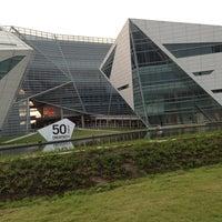 Photo taken at Bangkok University by Icez M. on 1/17/2013