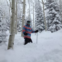 Photo taken at Pony Express Chairlift by Angie R. on 2/18/2013
