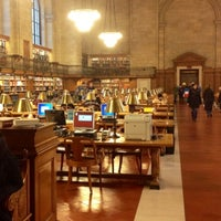 Photo taken at New York Public Library - Stephen A. Schwarzman Building Celeste Bartos Forum by Malli M. on 1/1/2014