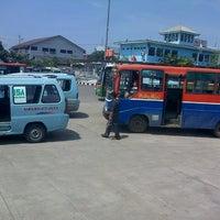 Photo taken at Terminal Bus Tanjung Priok by Augusta S. on 2/25/2013