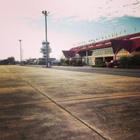 Photo taken at Udon Thani International Airport (UTH) by Bhuschong S. on 2/24/2013