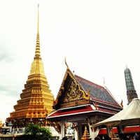 Photo taken at Temple of the Emerald Buddha by Bhuschong S. on 7/21/2013