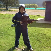 Photo taken at Campo De Paintball Monteperla by Laura B. on 2/24/2013