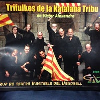 Photo taken at Teatre Àngel Guimerà del Vendrell by Josep M. on 12/15/2013