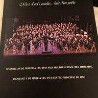Photo taken at Teatre Principal by Josep M. on 3/1/2015