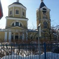 Photo taken at Церковь Пос. Мосрентген by Sergey K. on 3/22/2013