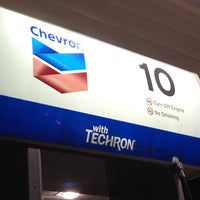 Photo taken at Chevron by Ernest F. on 2/13/2013