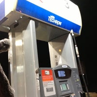 Photo taken at Chevron by Ernest F. on 1/30/2013