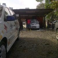 Photo taken at Car Wash Kampung Baru by muhd z. on 1/17/2013
