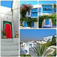 Photo taken at Sidi Bou Said by Ξ D I S ®. on 6/20/2015