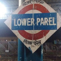 Photo taken at Lower Parel Railway Station by Chaiytra V. on 6/11/2013