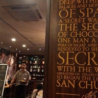 Photo taken at Chocolateria San Churro by Chaiytra V. on 5/18/2013