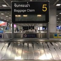 Photo taken at Baggage Claim 5 by Porapat B. on 10/28/2016