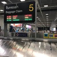 Photo taken at Baggage Claim 5 by Porapat B. on 3/24/2017