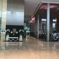Photo taken at Lobby by Porapat B. on 7/22/2017