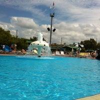 Photo taken at Turan Prince Aquapark by Ольга К. on 5/10/2013