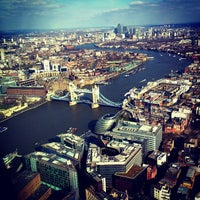 Photo taken at The View from The Shard by Rizwan A. on 4/1/2013