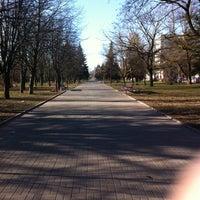 Photo taken at Парк 60-летия Октября by Victoria B. on 4/21/2013