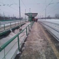 Photo taken at Ж/д станция Гжель by Ринат У. on 1/31/2013