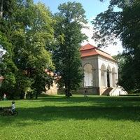 Photo taken at Valdštejnská lodžie   Libosad by Michaela M. on 7/7/2013