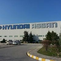 Photo taken at Hyundai Assan Otomotiv San. ve Tic. A.Ş. by Bülent S. on 3/1/2013
