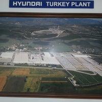 Photo taken at Hyundai Assan Otomotiv San. ve Tic. A.Ş. by Bülent S. on 2/6/2013