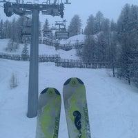 Photo taken at Alp Holiday Dolomiti by Annija V. on 3/27/2013
