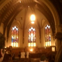 Photo taken at Packer Memorial Church by Marcus D. on 12/29/2012