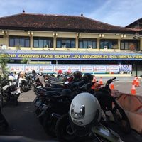 Photo taken at POLRESTA Denpasar by Alethia H. on 2/4/2017