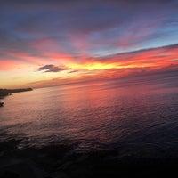 Photo taken at Tegal Wangi Beach by Alethia H. on 3/10/2017