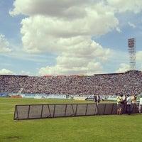 Photo taken at Estádio do Café by Villa M. on 3/3/2013
