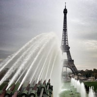 Photo taken at Place du Trocadéro by Bois H. on 11/10/2012