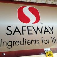 Photo taken at Safeway by MoniQue on 1/13/2013