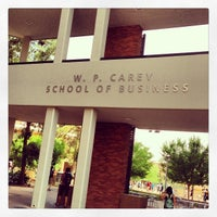 Photo taken at W. P. Carey School of Business by MoniQue on 4/8/2013