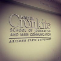 Photo taken at Walter Cronkite School of Journalism & Mass Communication by MoniQue on 12/11/2012
