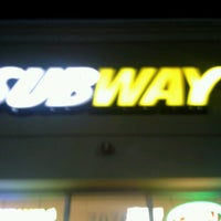 Photo taken at Subway by Cindy P. on 1/24/2013